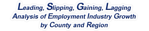 New Hampshire - LSGL Analysis of Employment Industry Growth by Selected Region, 1969-2016